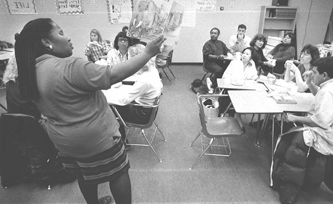 1996 teacher shows pamphlets