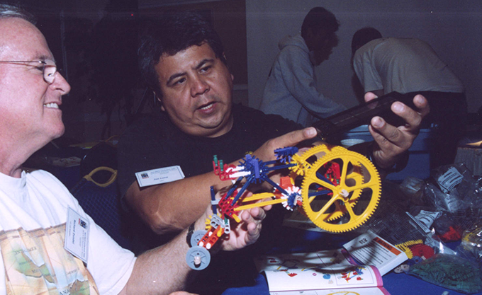 2001 men building inventions